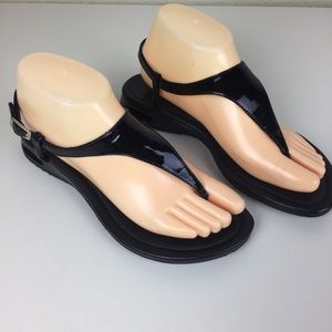 Cole Haan Nike Air 8B Patent Slingback Sandal